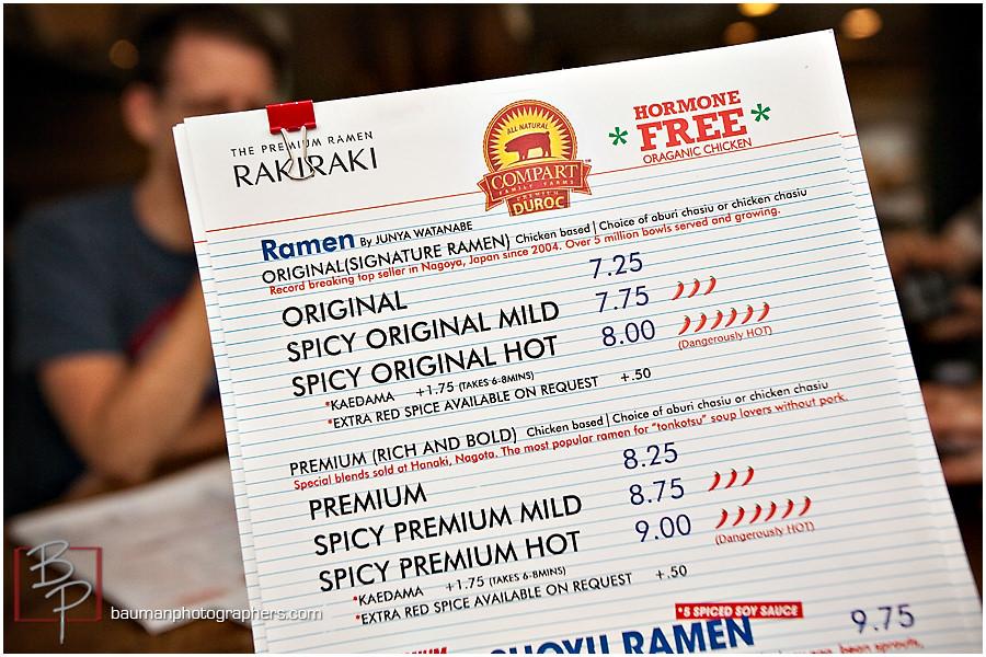 Rakiraki menu