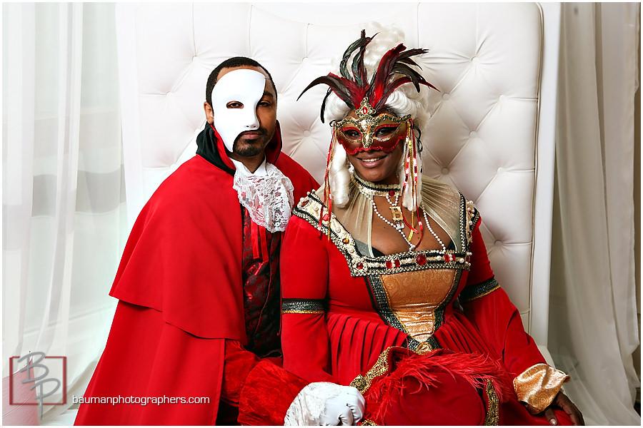 Gaslamp Quarter masquerade party