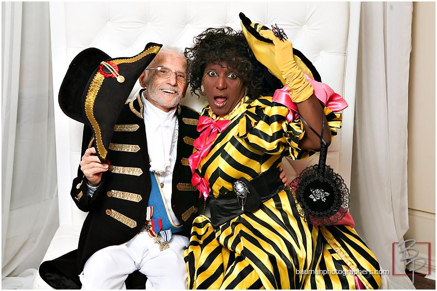Bristol Hotel masquerade party