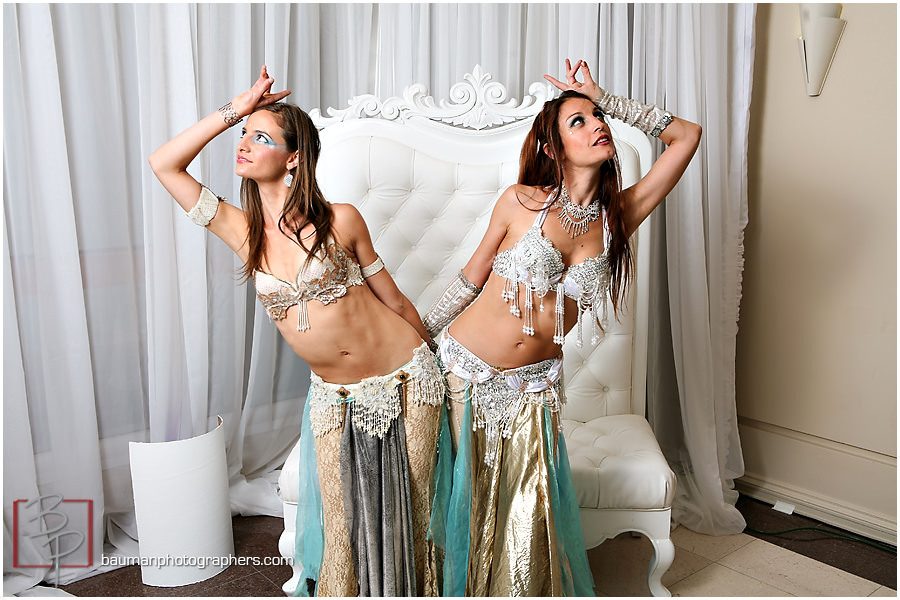 downtown San Diego belly dancers