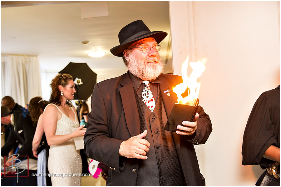 Gaslamp Quarter magician
