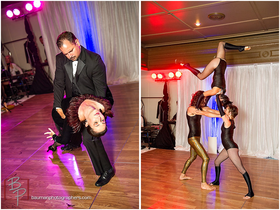San Diego acrobats ballroom