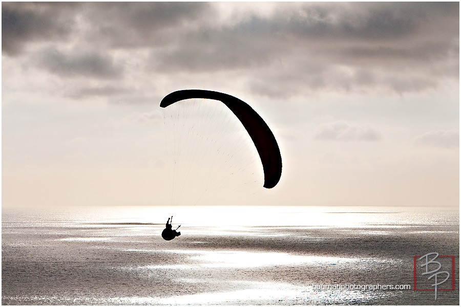La Jolla paragliding