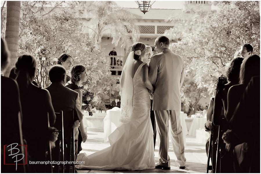 Rancho Bernardo Courtyard wedding