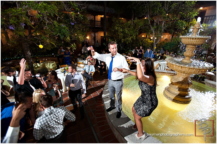San Diego fun wedding party