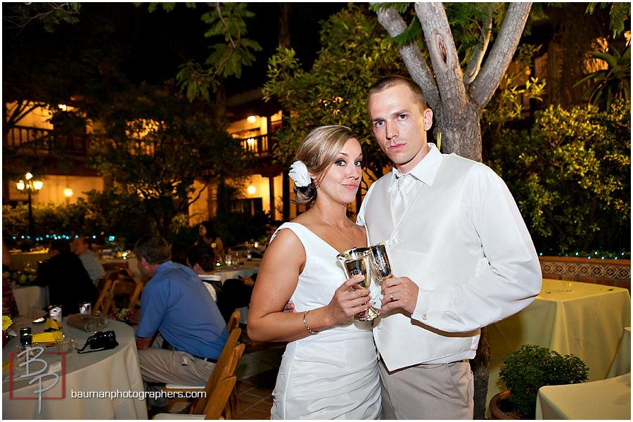 San Diego wedding toast