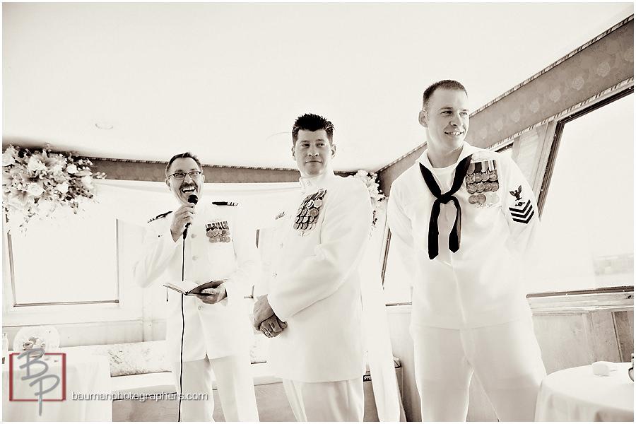 Hornblower military wedding