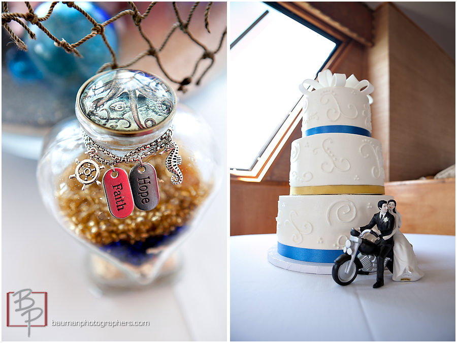 San Diego cool wedding toppers