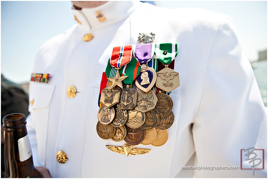 San Diego military groom