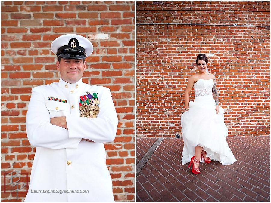 Gaslamp Quarter wedding pictures