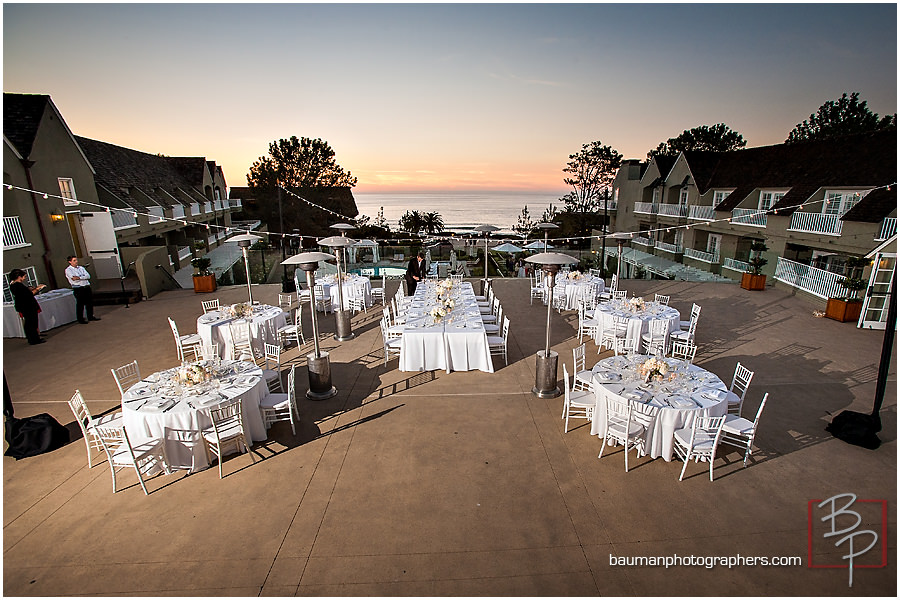 San Diego rooftop reception