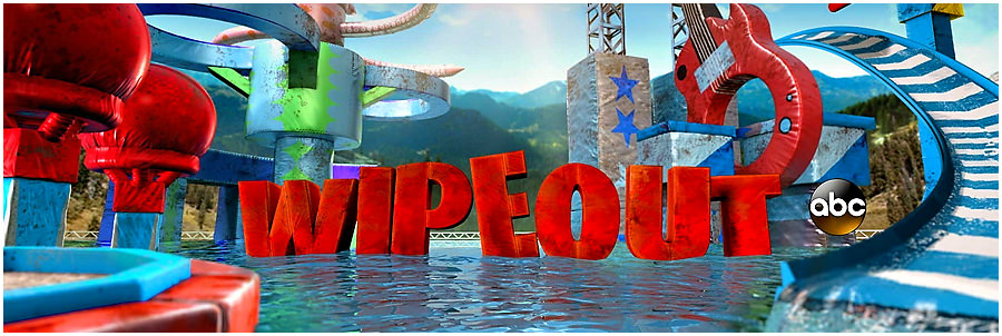 Bronson on Wipeout!