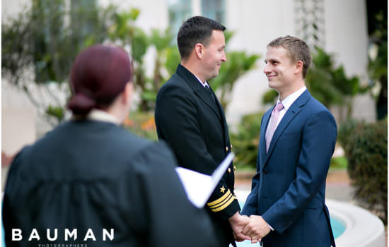 Courthouse Wedding :: San Diego, CA