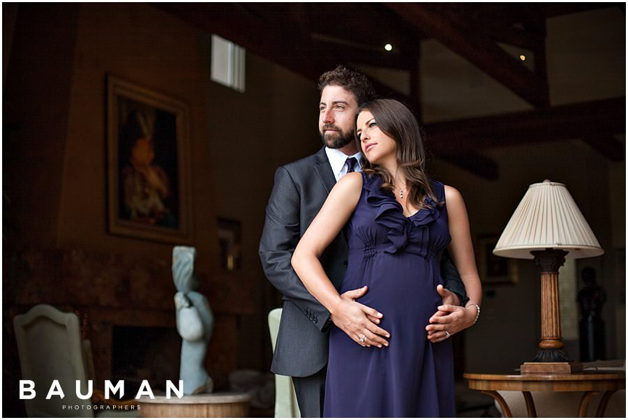 """For Richer or Poorer"" Maternity Session :: San Diego, CA"