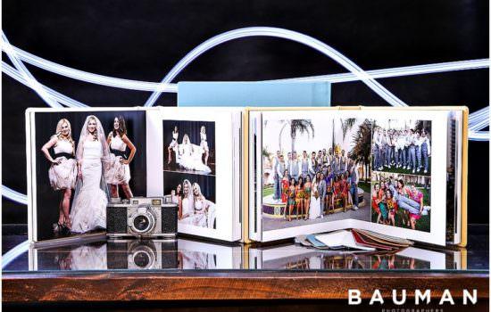 Wedding Albums by Bauman Photographers
