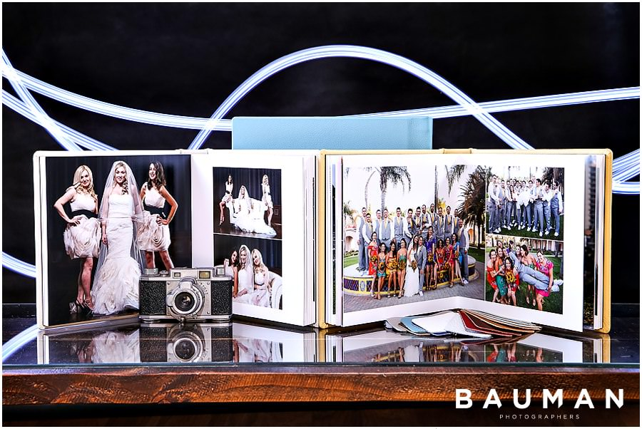 Wedding Albums by Bauman Photographers