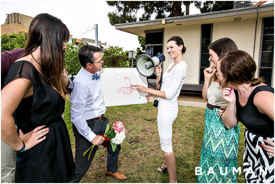 Bauman Break :: The Bouquet Toss Bouquet Toss Bootcamp