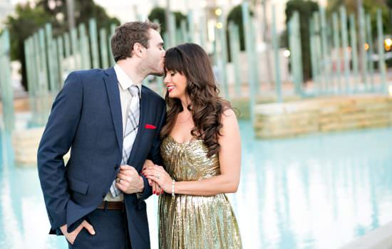 Your Engagement Session Guide The Perfect Glam Outfit