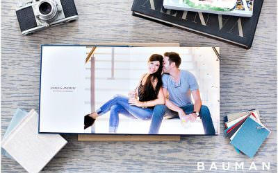 Engagement Albums by Bauman Photographers