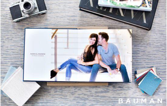 Engagement Albums by Bauman Photographers