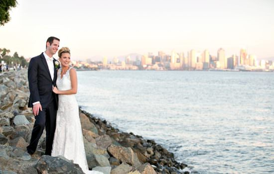 Island park wedding