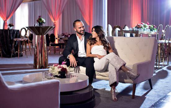 Modern Wedding Reception ::  Del Mar, CA